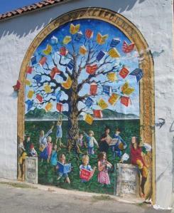 Book Mural