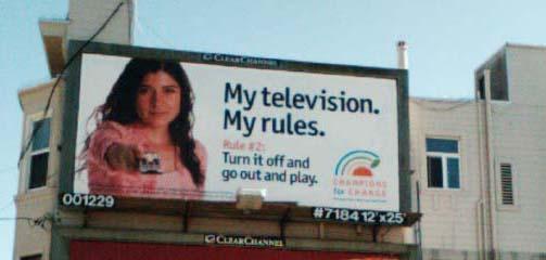 TV Rule # 2