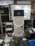 Homemade speaker and radio