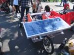 Solar Bike Cart